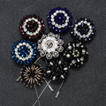 Crystal rhinestone brooch women diamond brooch pins