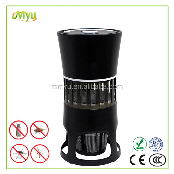 Electronic Indoor Mosquito/Insect/Bug Trap Fly Killer 4 Watt UV Bulbs Ultra-quiet LED Mosquito Lamp Harmless for Home MK-2119