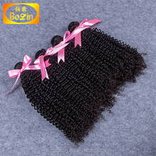 New product Mongolian kinky curly hair 100% virgin human hair full fix hair