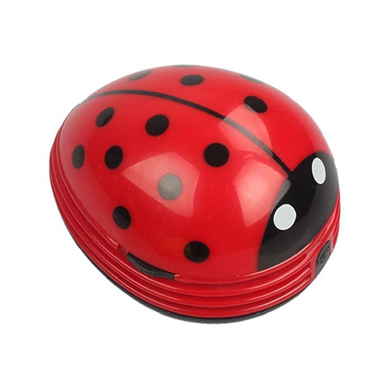 Amazon Top Seller 2018 Multi-function Home Gadget Hot Gift Promotion Creative Mini Ladybug Desktop Vacuum <strong>Cleaner</strong>