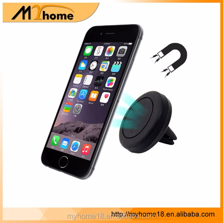 360 Degree Universal Car Holder Magnetic Air Vent Mount Smartphone, Dock Mobile Phone Holder Cell Phone Holder Stands For iPhone