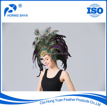Factory Directly Hair Decoration High Prime Quality Indian Feather Hat