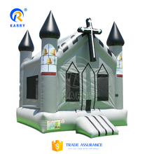 Commercial Church inflatable bouncer jumping castle,Bouncer jumping house,Durable inflatable jumping castle