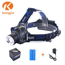 Ultra Bright Zoomable Aluminium Rechargeable LED Bicycle Light Headlamp Led Bulb For Miners Cap Lamps