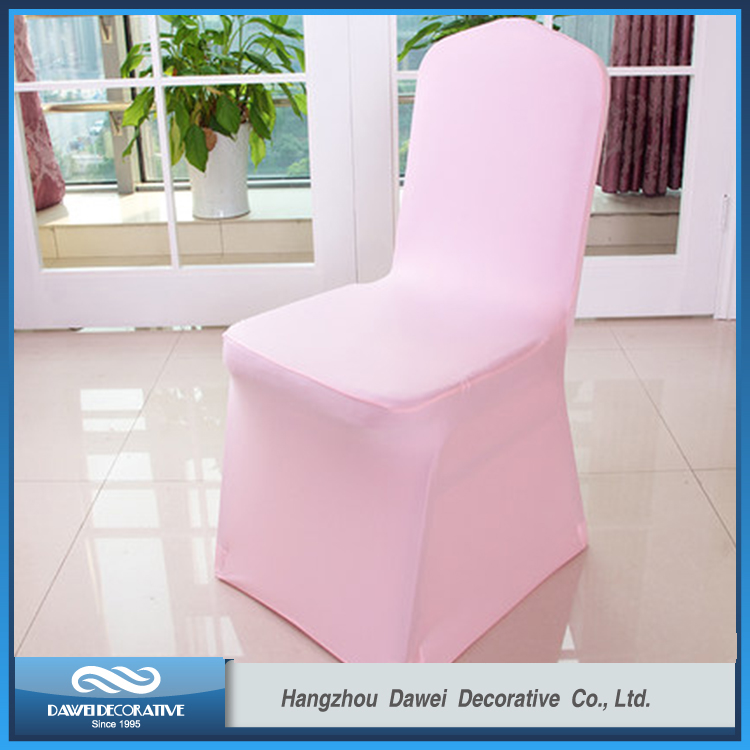 Light Pink Lovely Spandex Chair cover