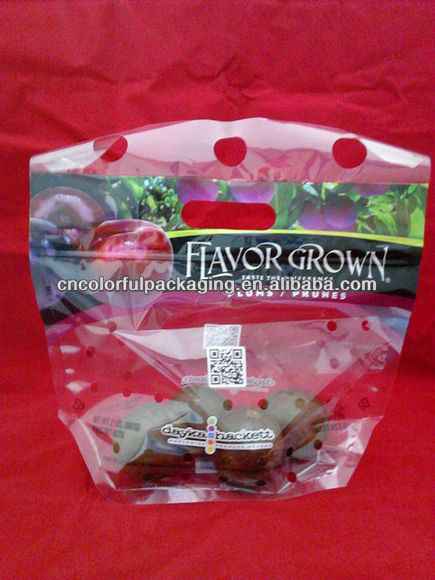 Plastic Perforated Bags /fruit and vegetable perforated bags/perforated plastic bags
