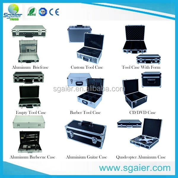 Guangzhou custom Made Flight Cases,cd rack case flight case ,stage light case