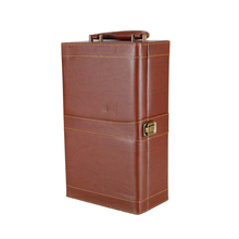 Luxury leather wine box and accessories/Leather Wine Carrier Packing box