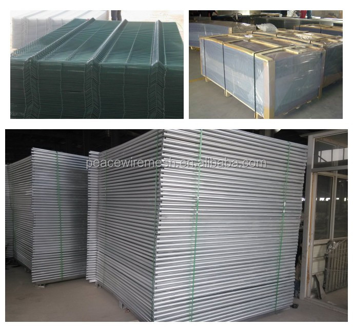 China factory for temporary fence removable fence barriers