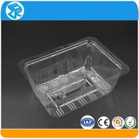 Multipurpose PET cheap plastic serving packaging tray