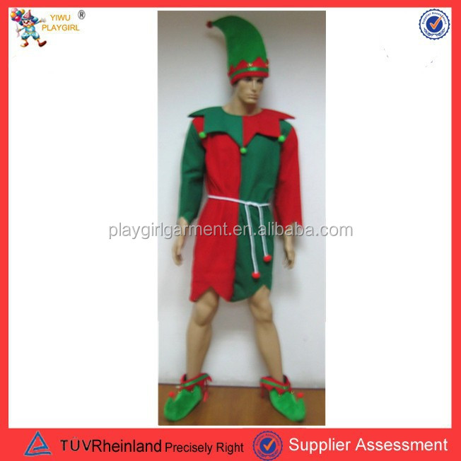 adult christmas elf costumes halloween costume PGMC-2782