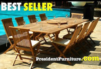 FSC Teak patio furniture new stacking chair