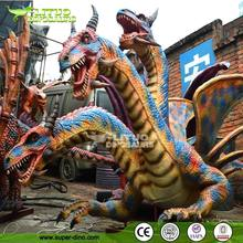 Amusement Park Animatroninc Magic Smoke Dragon Model