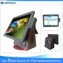 All in one 15 inch Touch Screen POS System with printer & customer display