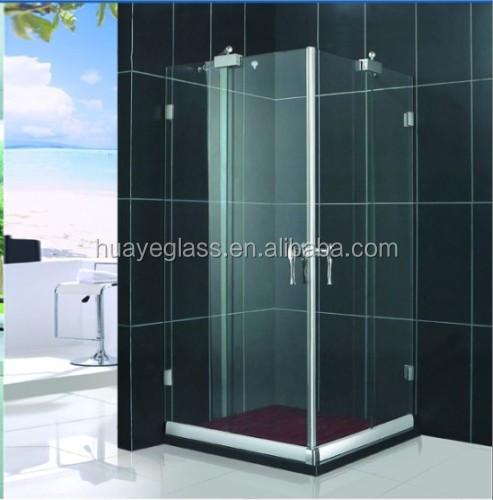 5 mm 6 mm 8 mm 10 mm en verre tremp prix pour tremp for Porte en verre pour salle de bain
