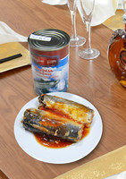 425g High Quality Canned Food Mackerel in Tomato Sauce