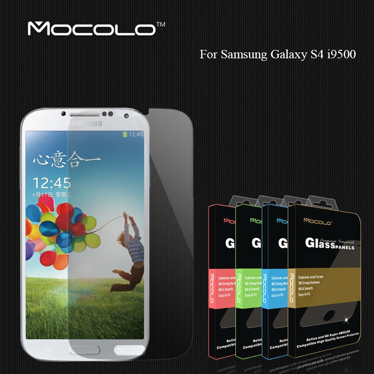 Mocolo For Samsung Galaxy S4 0.33mm Tempered Glass Screen Protector i9500 SIV Premium Protective Film