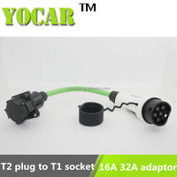 32A 5m ev cable ev socket to Type 2 plug EV adaptor