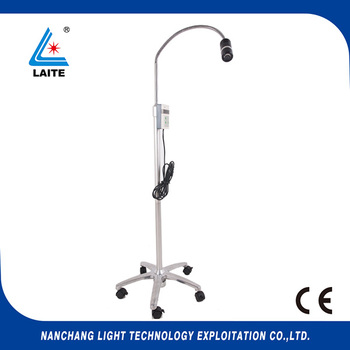 hot!!led Manufacturer Mobile floor type veterinary surgeon General Exam Lights