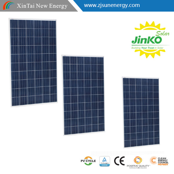 Jinko TOP pv module price 60 cells 255w 260w 265w roof solar panel solar cell