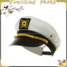wholesale police embroidery white party captain hat FGH-1008