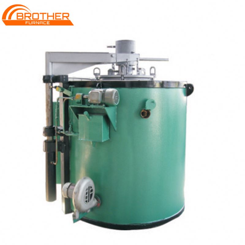 Pit Type Gas Nitriding Furnace Energy Saving Industrial Steel Nitriding Oven
