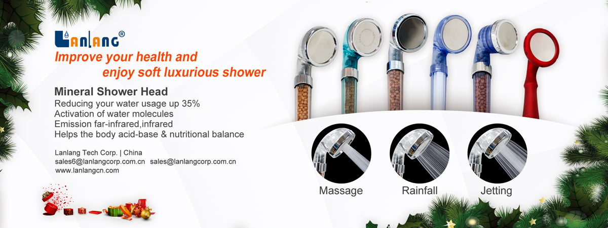 Hot selling Sauna or Steam Room shower filter head