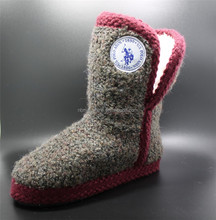 Beautiful Indoor Boot For Woman With Plush Lining
