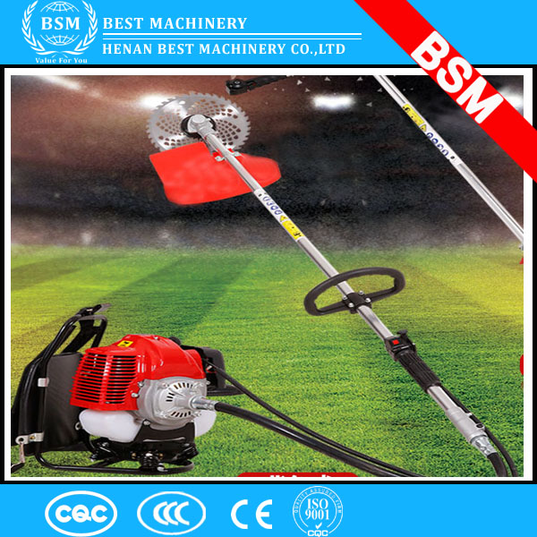 Gasoline 42.7cc Grass Cutter Machine / garden brush cutter manufacturer 43cc gas grass cutting machine