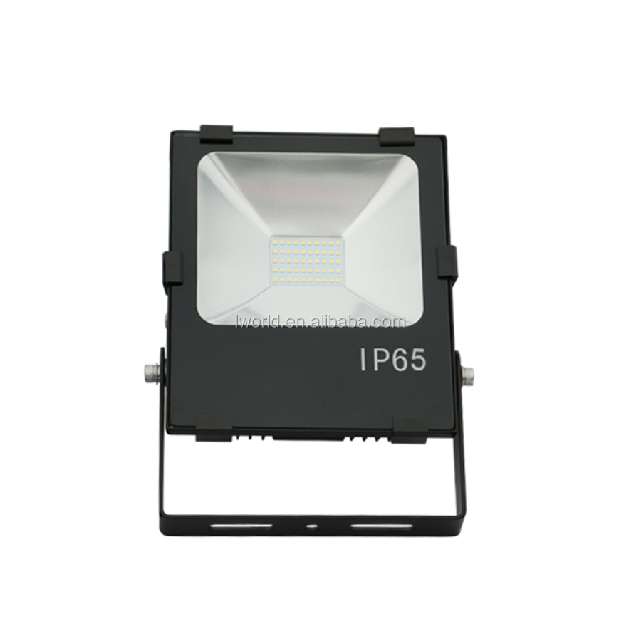 SMD3030 Meanwell driver 50 watt led flood light from factory IP65 high efficiency flood led light