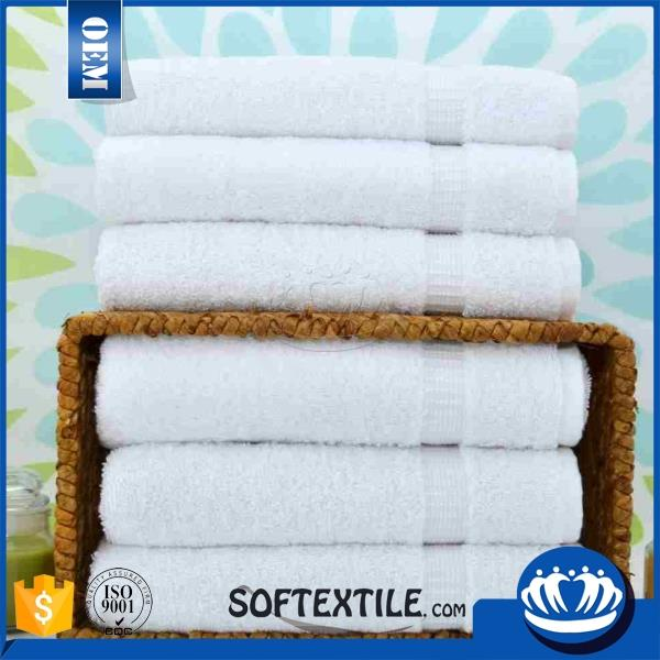 2016 china manufacturer antibacterial high quality 100 cotton white towels 10x10