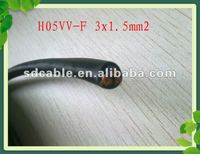 H05VV-F / PVC Insulation Flexible Cable