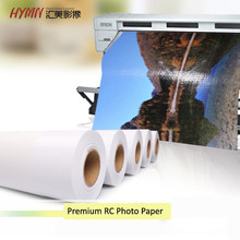 "40"" HYMN Metallic Glossy inkjet wide format printing photo paper roll"