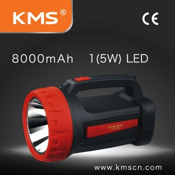 LED high power hand lamp rechargeable and low power consumption
