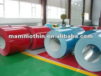 high quality prepainted galvalum steel coil DX51D