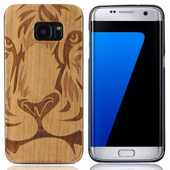 OEM ODM Phone Case Factory for Blank Back Samsung Galaxy S7 Edge, Ultra Slim Custom Wood Cases for Galaxy S7 Edge PC