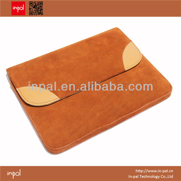 Fashion tablet accessory original design OEM leather case for ipad wholesale china