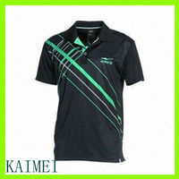 2013 most favorable black new design polo t shirt
