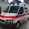 China Diesel ICU Ambulance Ambulance Car