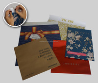 Recyclable kraft paper envelope in USA style
