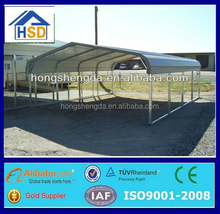hot sale ready made metal carport frame parts
