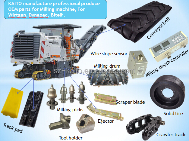 Wirtgen Construction Cuttting Tools Spare Parts