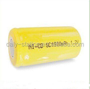 NICD 1.2v SC1800mAh Rechargeable Ni-Cd SC 1800mAh 9.6V battery pack