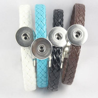 New Fashion Leather Snap Bracelet Jewelry