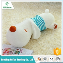 made in china promotional fashiobale custom plush woven dog toy