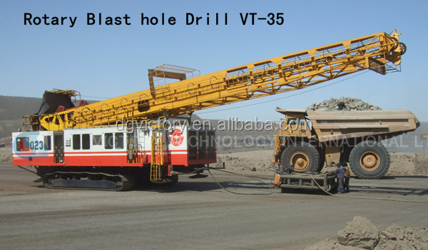 Rotary Blast hole Crawler Drill price/Find Crawler Drill manufacturer in China