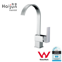 Haijun 2017 Trending Products Durable Square Single Hole Kitchen Tap Faucet