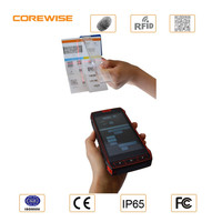 Quad-core 5.0inch Rugged phone with NFC/UHF RFID, GPS/Bluetooth/WIFI/IC card tablet android barcode scanner 2d mini usb