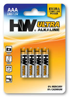 Ultra Power LR03 AAA AM4 1.5V Alkaline battery High Power dry batteries
