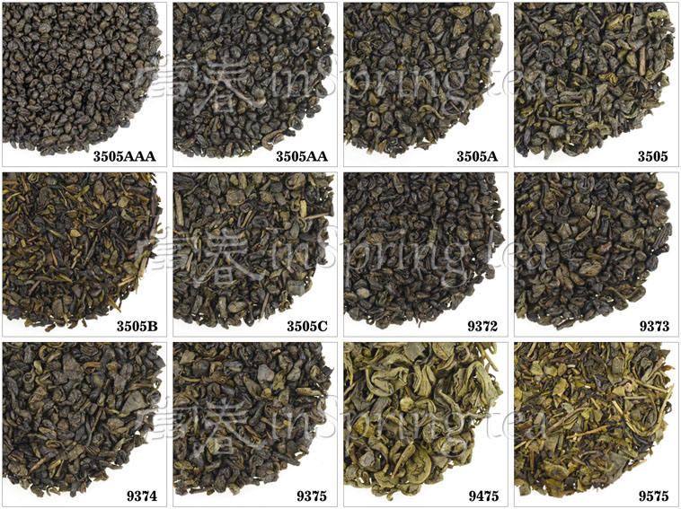 Superb Quality Granular Gunpowder Green Tea 3505AAA free sample